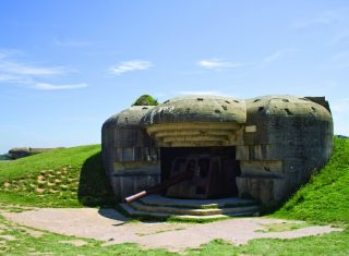 Batterie de Longue sur mer, Normandy, Fance ©Bischoff, Andrea / Normandy regional tourist board