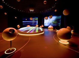 Switzerland, Geneva, CERN, physics,universe of particles permanent exhibition, school group travel, student travel © CERN, Michael Jungblut