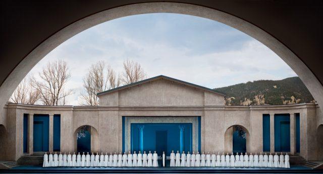 Oberammergau Passion Play Choir Germany Bavaria