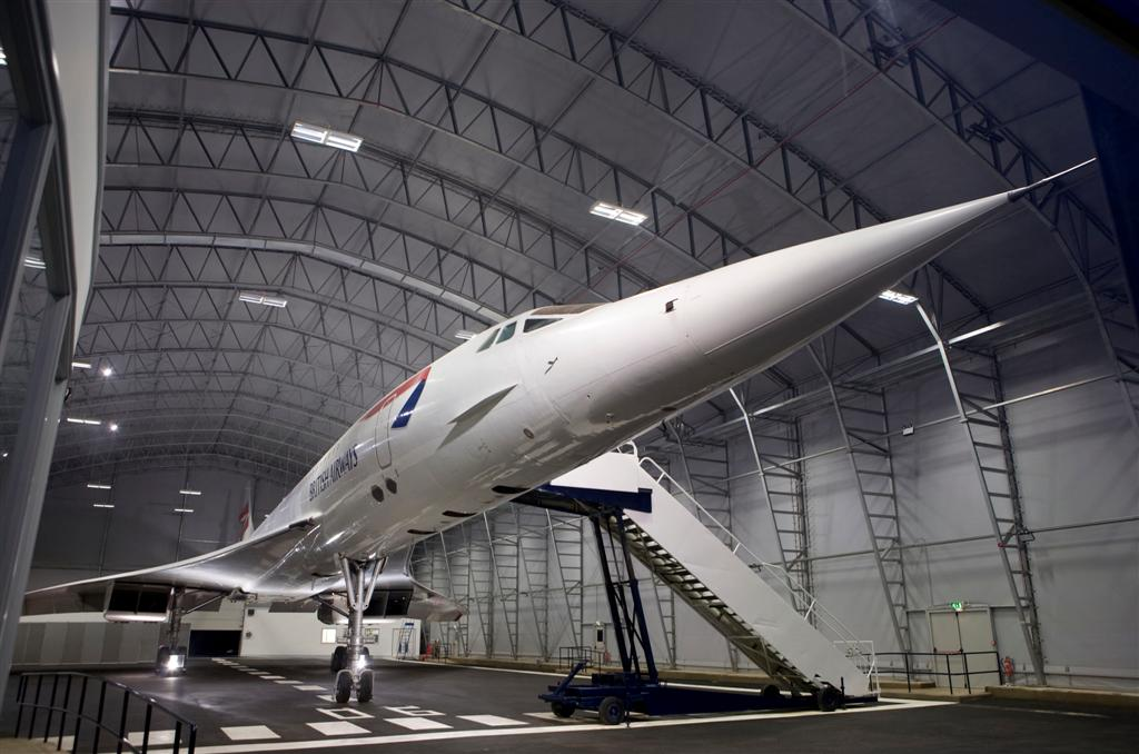 Concorde Visitor Centre @ Manchester Airport