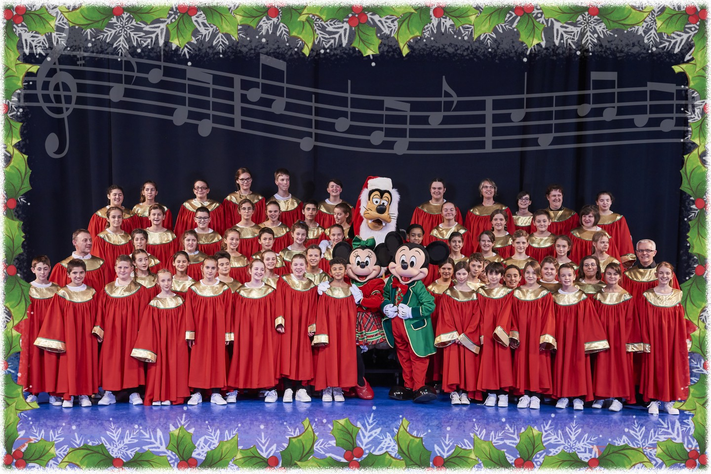 Disney Performing Arts - Lets Sing Christmas Disneyland® Paris ©Disney