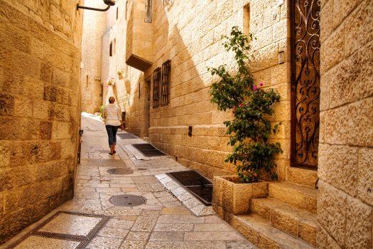 Israel, Jerusalem, Jewish Quarter, Religion, Student Travel, School Trip © Noam Chen, ThinkIsrael.com