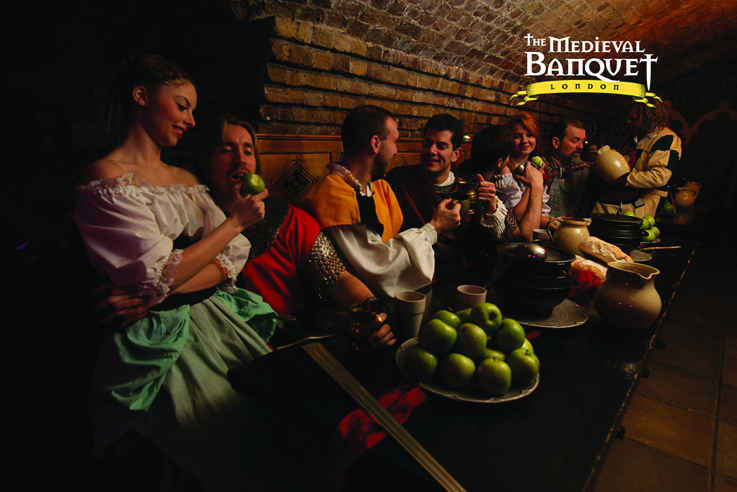 Medieval Banquet Table