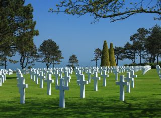 Normandy American Cemetery, Colleville sur Mer ©Atout France_Franck Charel France