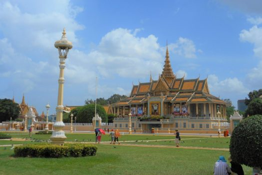 Cambodia, Phnom Penh, Royal Palace, school trip, student travel, educational travel,