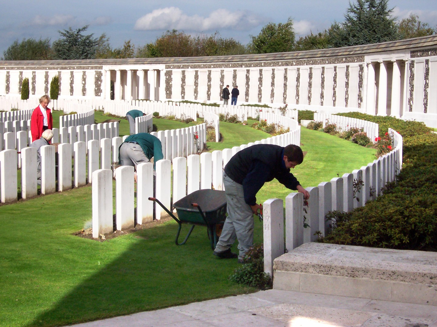 Tyne Cot Cemetary WW1 battlefields ©Commonwealth War Graves Commission